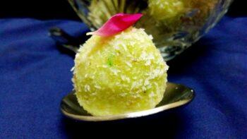 Instant Coconut Laddoo/ Nariyal Ke Laddoo - Plattershare - Recipes, Food Stories And Food Enthusiasts