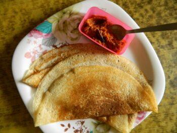 Whole Wheat Dalia Dosa - Plattershare - Recipes, Food Stories And Food Enthusiasts