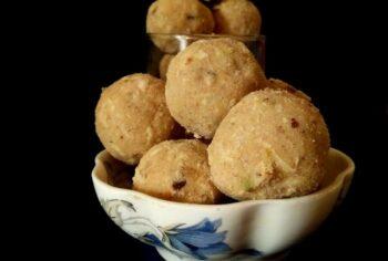 Aate Ke Laddoo - Plattershare - Recipes, Food Stories And Food Enthusiasts