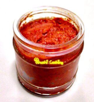Sukhi Lal Mirch And Lahsun Ki Rajasthani Chutney - Plattershare - Recipes, Food Stories And Food Enthusiasts