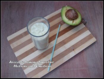 Avocado-Banana Smoothie - Plattershare - Recipes, Food Stories And Food Enthusiasts