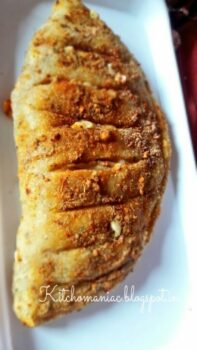 Spicy Stuffed Cheesy Garlic Bread - Plattershare - Recipes, Food Stories And Food Enthusiasts
