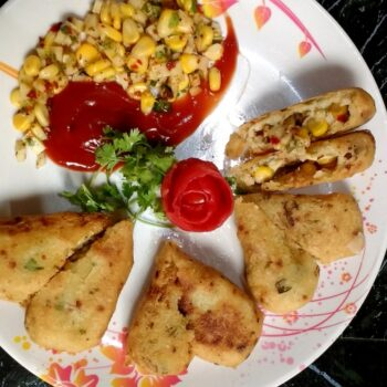 Stuffed Cheese Milti Grain Croquettes - Plattershare - Recipes, Food Stories And Food Enthusiasts