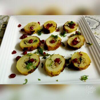 Bharwa Tandoori Aaloo - Plattershare - Recipes, Food Stories And Food Enthusiasts