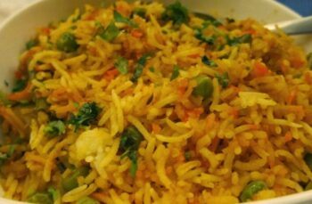 Vegetable Biryani Recipe Â???? How To Make Vegetable Biryani Recipe Â???? Veg Biryani - Plattershare - Recipes, Food Stories And Food Enthusiasts