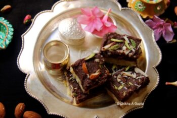 Chocolate Milk Instant Kalakand - Plattershare - Recipes, Food Stories And Food Enthusiasts