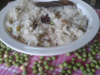 Peas Pulao Recipe - Plattershare - Recipes, Food Stories And Food Enthusiasts