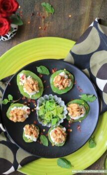 Nutty Kiwi Discs With Greek Yogurt - Plattershare - Recipes, Food Stories And Food Enthusiasts