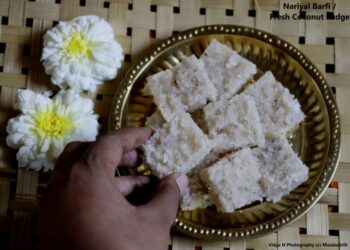 Coconut Barfi - Plattershare - Recipes, Food Stories And Food Enthusiasts