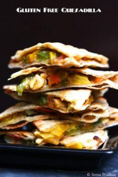 Glutten Free Quesadilla Using Jiwa Glutten Free Atta - Plattershare - Recipes, Food Stories And Food Enthusiasts