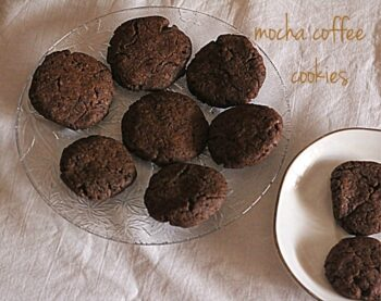 Healthy Coffee Cookies - Plattershare - Recipes, Food Stories And Food Enthusiasts