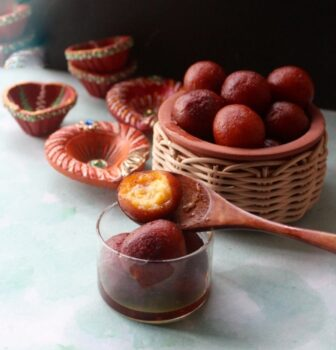 Pineapple Jamun (Gulab Jamun With A Fruity Twist) - Plattershare - Recipes, Food Stories And Food Enthusiasts