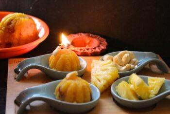 Pineapple Kesari/Pineapple Sheera (Semolina Pudding With Pineapple) - Plattershare - Recipes, Food Stories And Food Enthusiasts