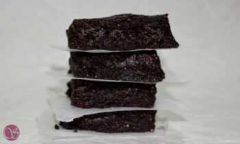 Gluten Free Quinoa Brownies With Date Syrup - A Perfect Healthy Snack - Plattershare - Recipes, Food Stories And Food Enthusiasts