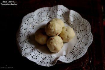 Rava Ladoo Or Semolina Ladoo - Plattershare - Recipes, Food Stories And Food Enthusiasts
