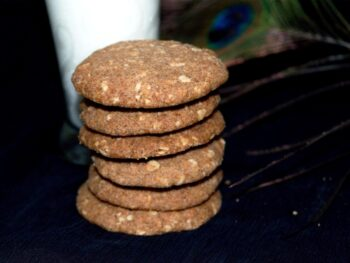 Ragi Cookies With Jaggery - Plattershare - Recipes, Food Stories And Food Enthusiasts