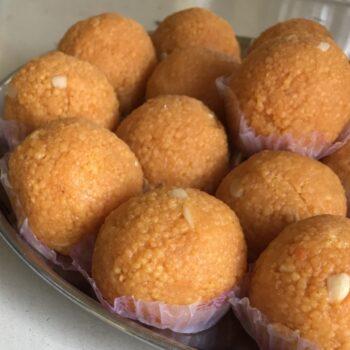 Motichoor Ladoo - Plattershare - Recipes, Food Stories And Food Enthusiasts
