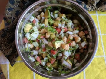 Chickpeas Salad Recipe - Plattershare - Recipes, Food Stories And Food Enthusiasts