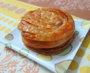 Paenia/ Fried Puris In Sugar Syrup - Plattershare - Recipes, Food Stories And Food Enthusiasts