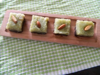 Chocolate And Bottle Gourd Fudge - Plattershare - Recipes, Food Stories And Food Enthusiasts