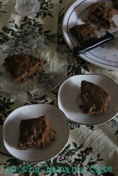 Mocha Banana Cake - Plattershare - Recipes, Food Stories And Food Enthusiasts