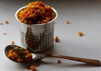 Kara Boondi (Spiced Gram Flour Pearls Trail Mix) - Plattershare - Recipes, Food Stories And Food Enthusiasts