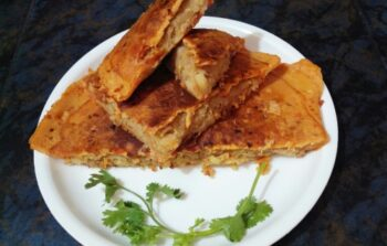 Stuffed Omelette - Plattershare - Recipes, Food Stories And Food Enthusiasts
