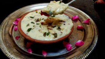 Makhana Phirni - Plattershare - Recipes, Food Stories And Food Enthusiasts