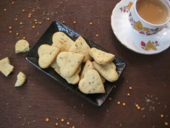 Eggless Cumin Lentil Cookies - Plattershare - Recipes, Food Stories And Food Enthusiasts