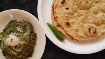 Mustard Leaves And Maize Roti (Sarson Ka Saag Makke Di Roti) - Plattershare - Recipes, Food Stories And Food Enthusiasts