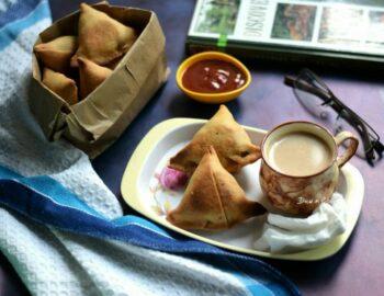 Baked Dhansak Flavored Veg Samosa - Plattershare - Recipes, Food Stories And Food Enthusiasts