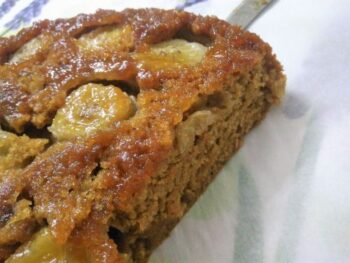 Caramelized Banana Upside Down Cake - Plattershare - Recipes, Food Stories And Food Enthusiasts
