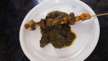 Greeny Smoked Prawn - Plattershare - Recipes, Food Stories And Food Enthusiasts