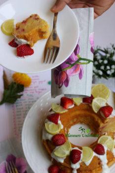 The Ultimate Lemon Yogurt Berry Cake - Plattershare - Recipes, Food Stories And Food Enthusiasts