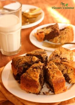 3 Flavored Marble Cake - Plattershare - Recipes, Food Stories And Food Enthusiasts