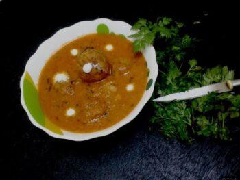 Mushroom Kofta Curry - Plattershare - Recipes, Food Stories And Food Enthusiasts