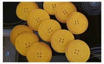 Button Cookies - Plattershare - Recipes, Food Stories And Food Enthusiasts