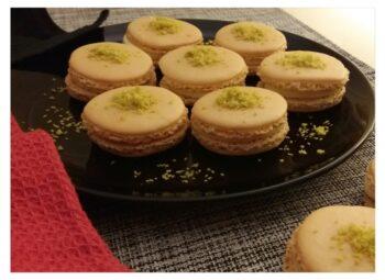 Rasmalai Macarons - Plattershare - Recipes, Food Stories And Food Enthusiasts