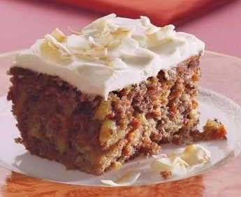 Healthy Carrot Cake With Yogurt Icing - Plattershare - Recipes, Food Stories And Food Enthusiasts