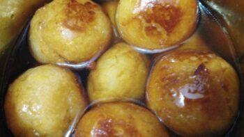 Sweet Potato Gulabjamun - Plattershare - Recipes, Food Stories And Food Enthusiasts