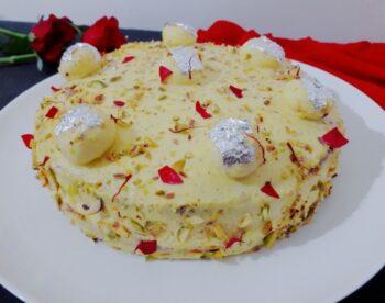 Rasmalai Cake (Eggless) - Plattershare - Recipes, Food Stories And Food Enthusiasts