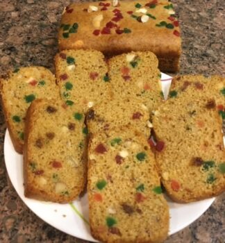 Eggless Wheat Teatime Cake / Fruit Cake - Plattershare - Recipes, Food Stories And Food Enthusiasts