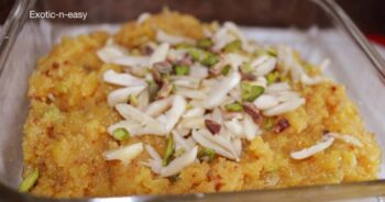 Moong Dal Halwa - Plattershare - Recipes, Food Stories And Food Enthusiasts