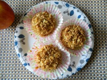Apple Oats Crumble Cake - Plattershare - Recipes, Food Stories And Food Enthusiasts