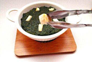 Saag Paneer - Plattershare - Recipes, Food Stories And Food Enthusiasts
