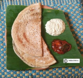 Pearl Millet Dosa - Plattershare - Recipes, Food Stories And Food Enthusiasts