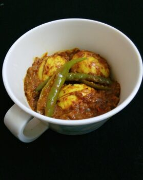 Achari Egg - Plattershare - Recipes, Food Stories And Food Enthusiasts