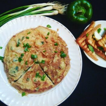 Fried Potato And Egg Omelette - Plattershare - Recipes, Food Stories And Food Enthusiasts