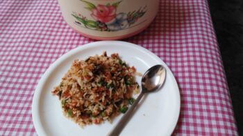 Tricolor Pulao - Plattershare - Recipes, Food Stories And Food Enthusiasts