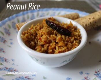 Peanut Rice Recipe - Plattershare - Recipes, Food Stories And Food Enthusiasts